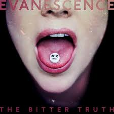 The album artwork for The Bitter Truth by Evanescence. There was no single artwork for Wasted on You.