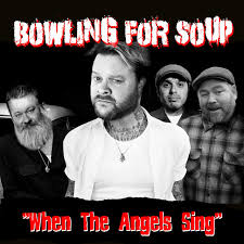 The single artwork for When the Angels Sing by Bowling for Soup.